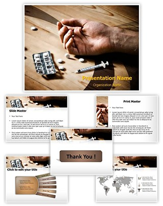 Drug Overdose Editable PowerPoint Template