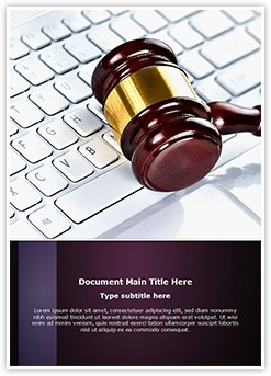 Cyber Law Consulting Editable Word Template