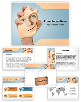 Identity Theft Editable PowerPoint Template