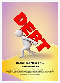 Debt Burden Editable Word Template