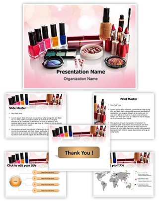 Cosmetics Editable PowerPoint Template