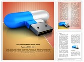 Flash Drive Template