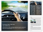 Dashboard Editable Word Template