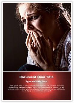 Grief Editable Word Template