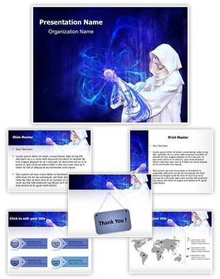 Wizard Editable PowerPoint Template