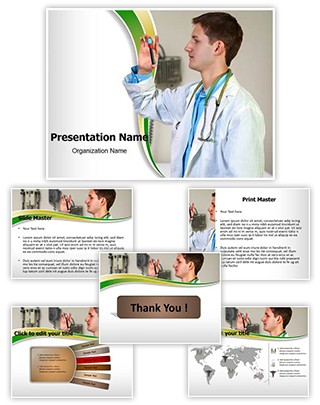 Blood Sample Editable PowerPoint Template