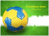 Hand Ball Editable PowerPoint Template