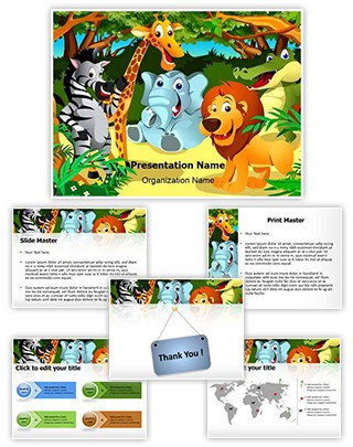 Jungle Editable PowerPoint Template