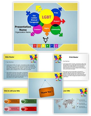 LGBT Editable PowerPoint Template