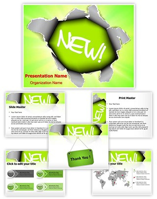 New Product Launch Editable PowerPoint Template