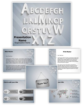 Typography Editable PowerPoint Template