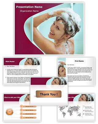 Shampoo Editable PowerPoint Template