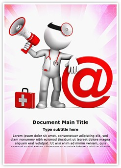 Medical Email Editable Word Template