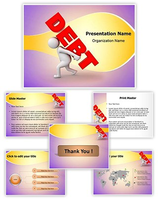 Debt Burden Editable PowerPoint Template