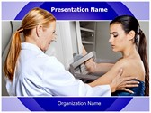 Mammogram Test PowerPoint Templates