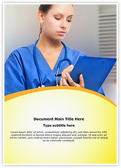 Medical record Editable Word Template