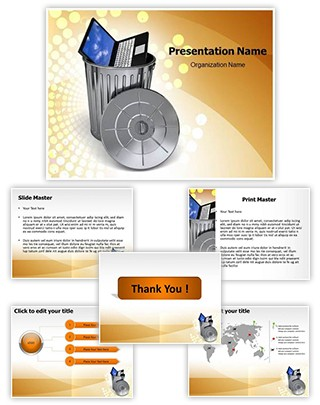 Ewaste Editable PowerPoint Template