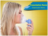 Asthma Attack Editable PowerPoint Template