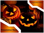 Halloween Pumpkin Editable PowerPoint Template