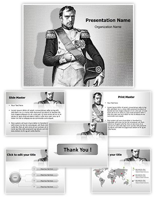 Napoleon Bonaparte Editable PowerPoint Template