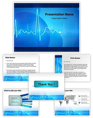 Electrocardiogram Editable PowerPoint Template