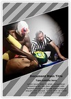 Wrestlers Referee