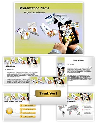 E-Commerce Concept Editable PowerPoint Template