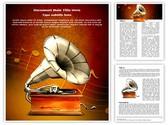 Gramophone Editable Word Template