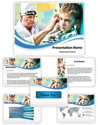 Ent Editable PowerPoint Template