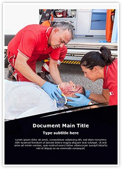 Medical Rescue Editable Word Template