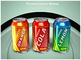 Beverage Can Editable PowerPoint Template