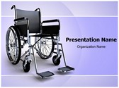 Wheelchair Editable PowerPoint Template