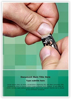 Cutting Nails Editable Word Template
