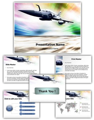 Air Force Editable PowerPoint Template