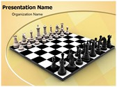Chess Board Editable PowerPoint Template