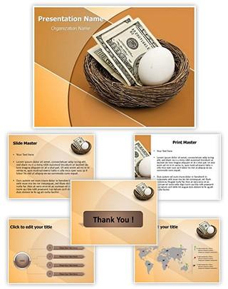 Retirement Savings Editable PowerPoint Template