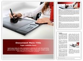 Graphic tablet Template