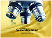 Laboratory Microscope PowerPoint Templates