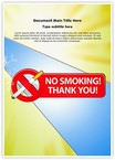 No smoking Thank you