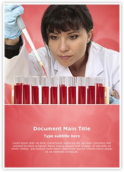 Hematology Editable Word Template
