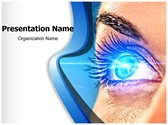 Eye Effect Editable PowerPoint Template