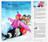 Family Winter Vacation Editable Word Template