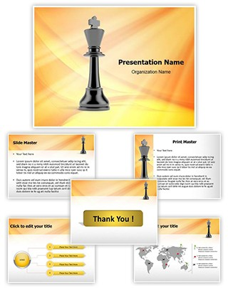 The King Editable PowerPoint Template