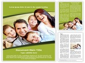 Smiling Family Template