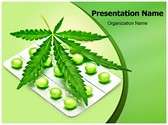 Cannabis Sativa PowerPoint Templates