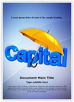Capital Development Editable Word Template