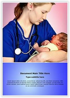 Midwifery Editable Word Template