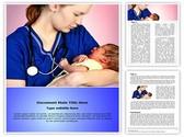 Midwifery Editable Word Template