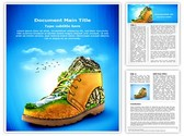 Mountaineering Shoes Template