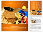 Concrete Cement Mixer Template
